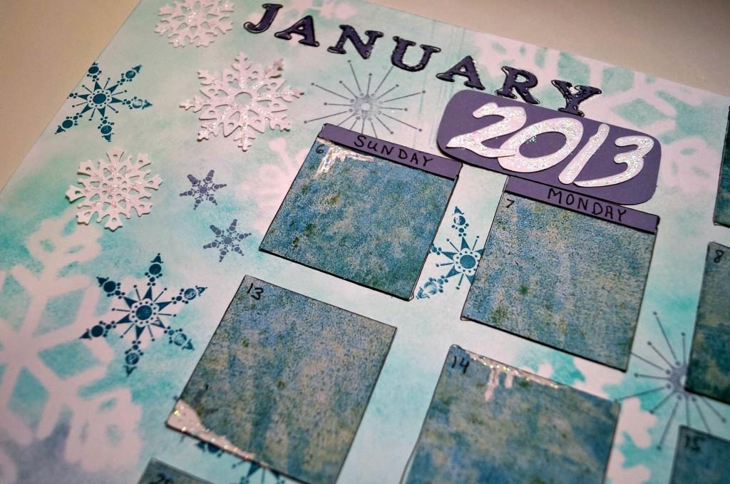 January Calendar Artful Adventures