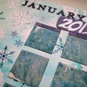 Art Journal Calendar, Scrapbook Style