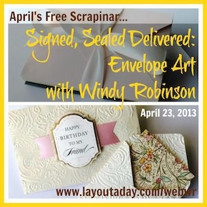 April Free Scrapinar