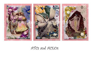 ACEOs and ATCs by Joanna Grant