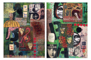 Art Journal Pages 1 and 2 by Joanna Grant