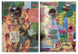 Art Journal Pages 3 and 4 by Joanna Grant