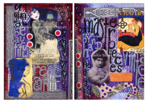 Art Journal Pages 5 and 6 by Joanna Grant