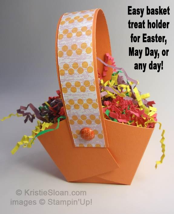 Artful Adventures Kristie Sloan Treat Holder Basket