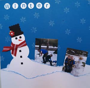 Artful Adventures ScrapAhead Snowman