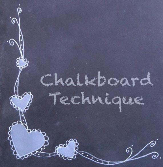 ArtfulAdventures KristieSloan chalkboard technique