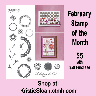 CTMH stamp of the month February 2015