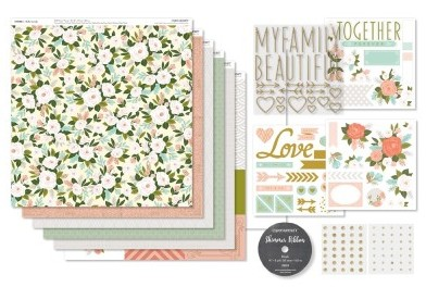 Hello Lovely, CTMH Workshops Your Way Scrapbook Kit, #G1119