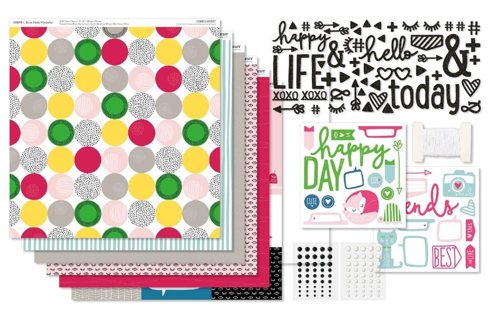 Some Kinda Wonderful, CTMH Workshops Your Way Scrapbook Kit, G1120