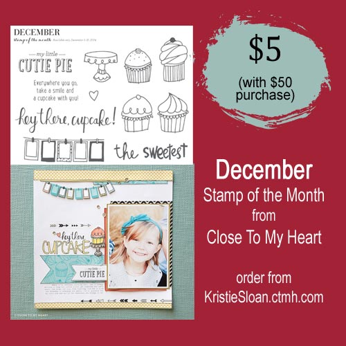 CTMH December 2014 Stamp of the Month
