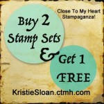 ctmh stampaganza, buy 2 get 1 free