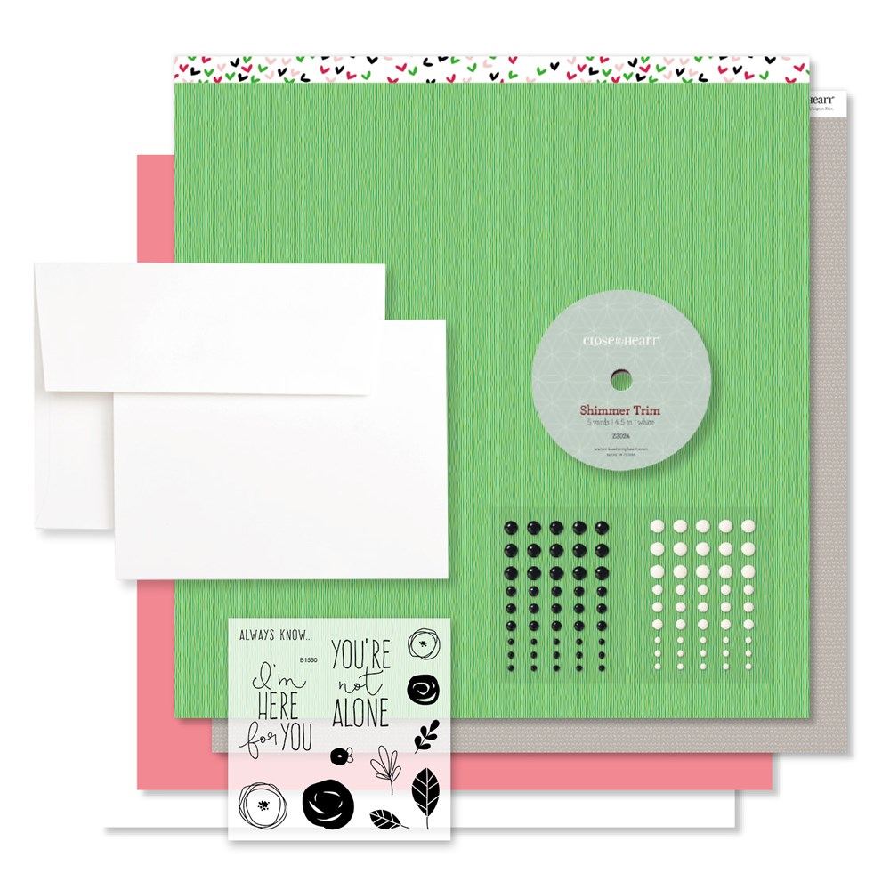 Here For You, CTMH Workshops Your Way, Card Kit (G1124)