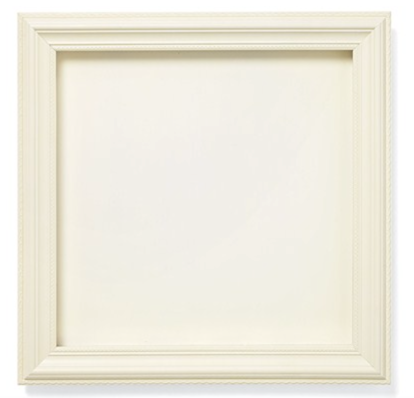 CTMH colonial white shadow box frame