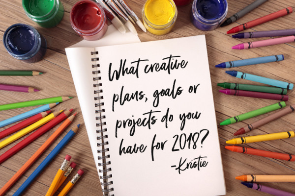 creative goals for 2018