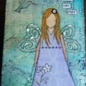 Mixed Media Girl – Creativity