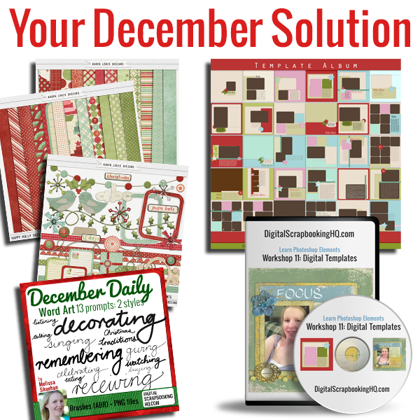 Creative Christmas Bundle December Solution
