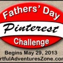 Father's Day Pinterest Challenge Announcement