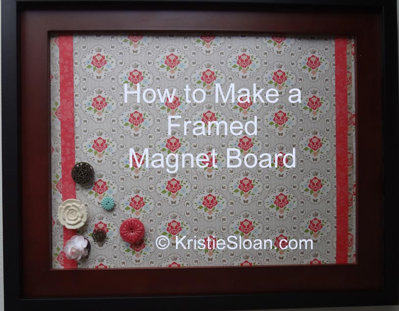Artful Adventures Kristie Sloan FramedMagnetBoard