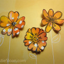 Sandi Keene Deli Paper Flower Video Tutorial
