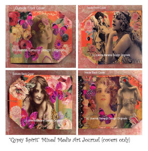Gypsy Spirit Art Journal by Joanna Grant