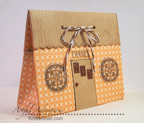 Mini house gift box for treats