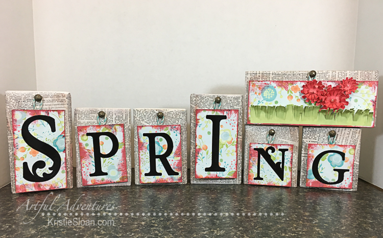 Spring Word Tags