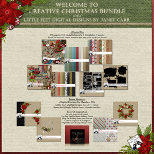 Creative Christmas Bundle Janet Carr