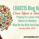 Scrapbook Page a Day – Prepping for LOAD215