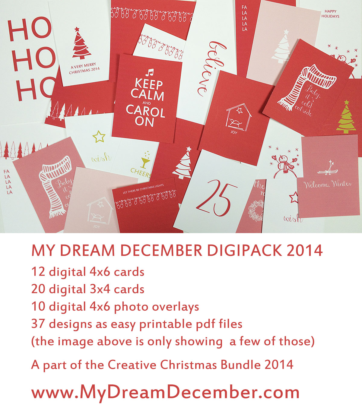 Creative Christmas Bundle My Dream December Digipack