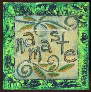 Namaste by Joanna Grant