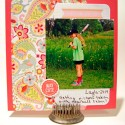 Picture My Life Scrapbooking Cards on a Mini Album Page
