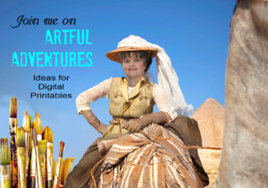 Artful Adventures Digital Printables