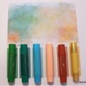 Pinterest + Gelatos = Art Journal Page