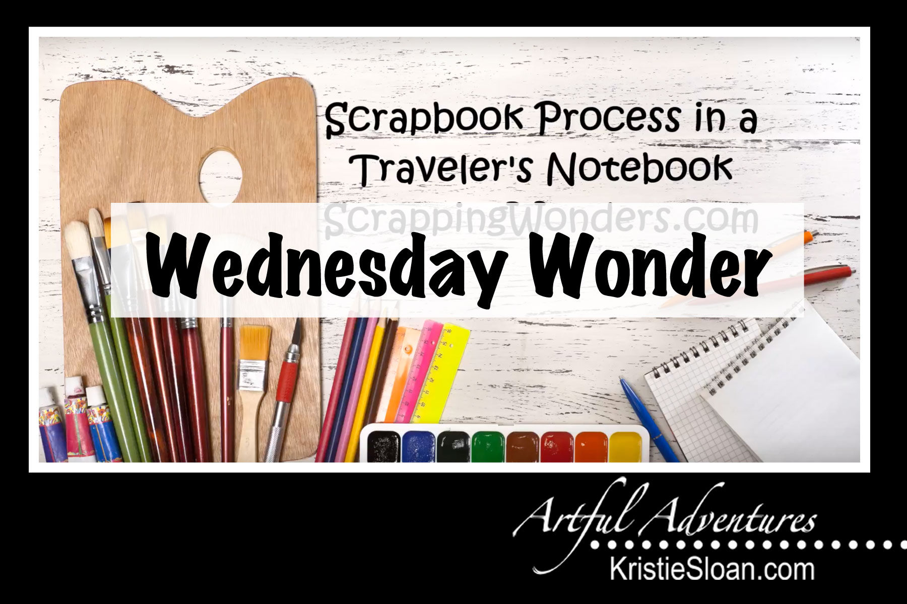Using Travelers Notebooks for small scrapbooking