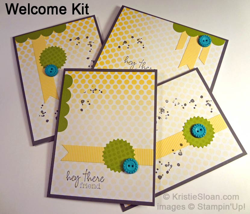 Welcome Kit Cards