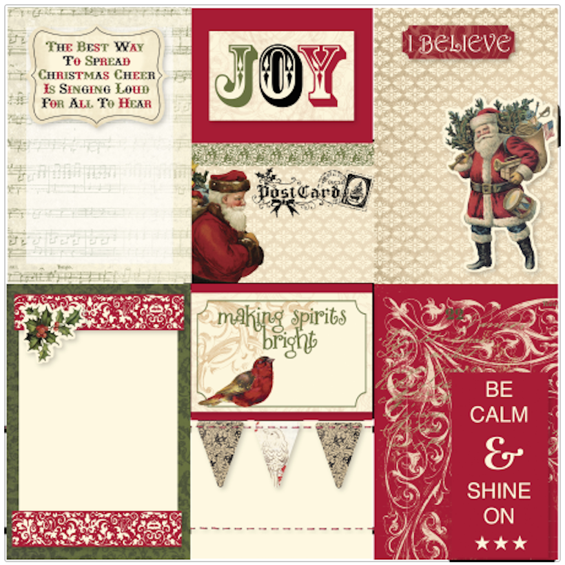 Yuletide Pocket Cards 1