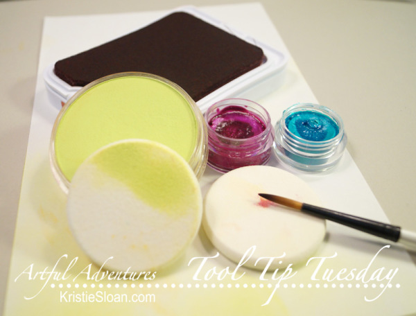 Cosmetic sponges can serve a multitude of purposes in arts and crafts.