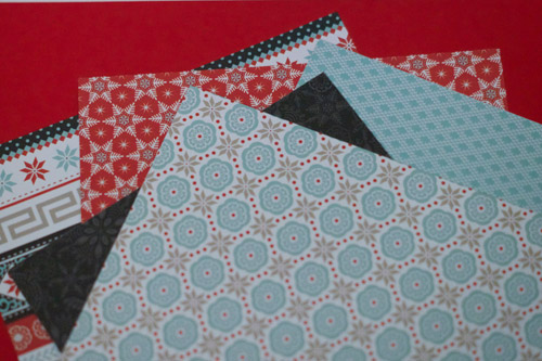 CTMH Snow Haven paper pack.