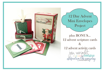 Creative Christmas Bundle Advent Pockets