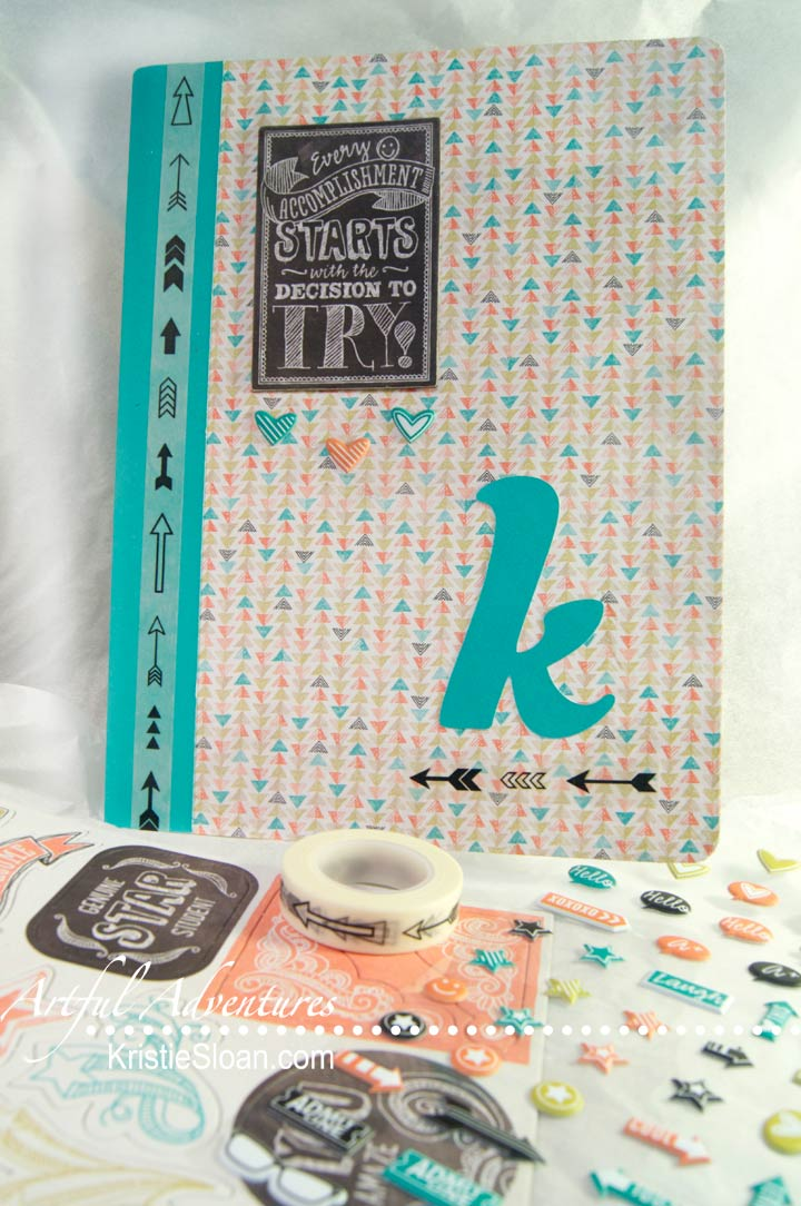 Composition Book Makeover