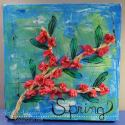 Spring Mixed Media Technique