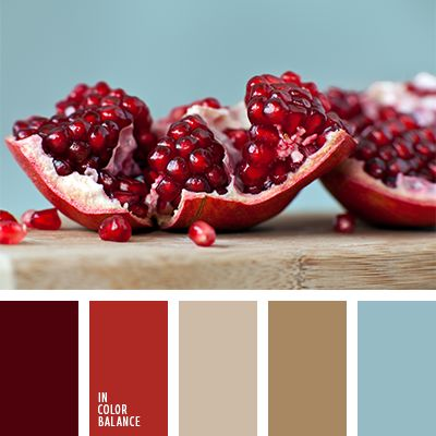 pomegranate color inspiration