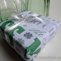 Turn a Printable Download into Gift Wrap