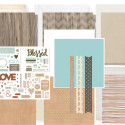 Rustic Home Online Scrapbook Club Workshop