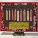 Easy Birthday Card with Candles
