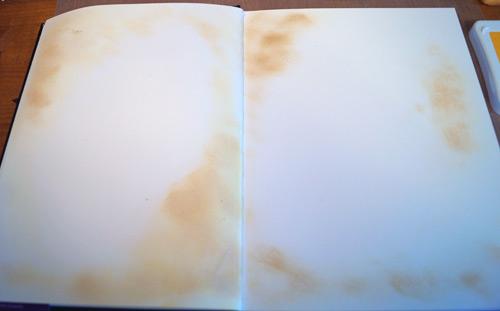 art journaling style scrapbooking background