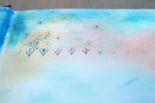 Imperfect stamping